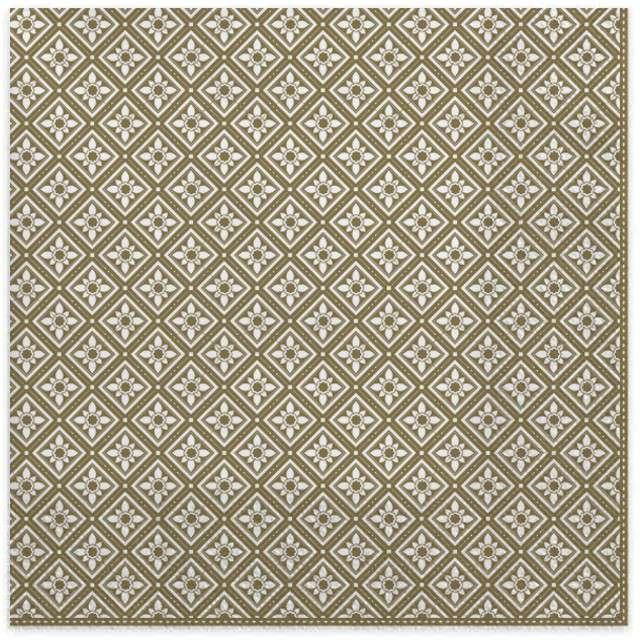 """Serwetki """"Geometryczne elementy"""", złote, MAKI, 33 cm, 20 szt"""