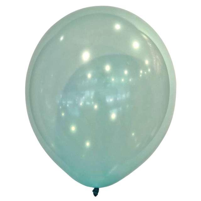 "Balony ""Decor Premium - Droplets"", zielone, Amscan, 11"", 50 szt"
