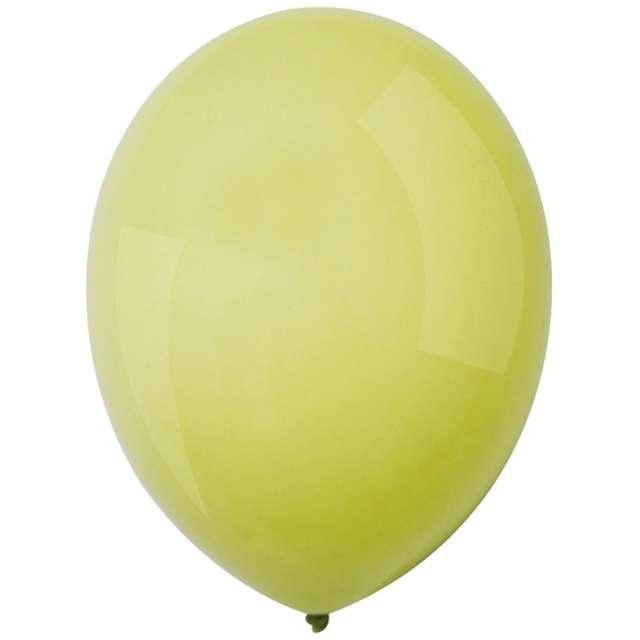 "Balony ""Decor Premium - Macaron "", pistacjowe, Amscan, 11"", 50 szt"