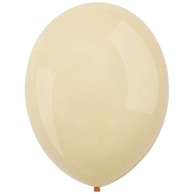 "Balony ""Decor Premium - Macaron "", kremowe, Amscan, 11"", 50 szt"