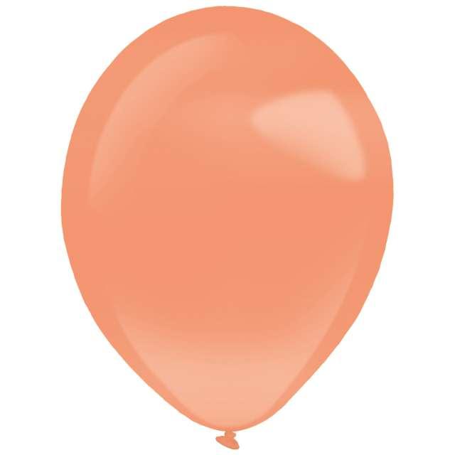 """Balony """"Decor Premium - Pearl"""", pomarańczowe, Amscan, 11"""", 50 szt"""