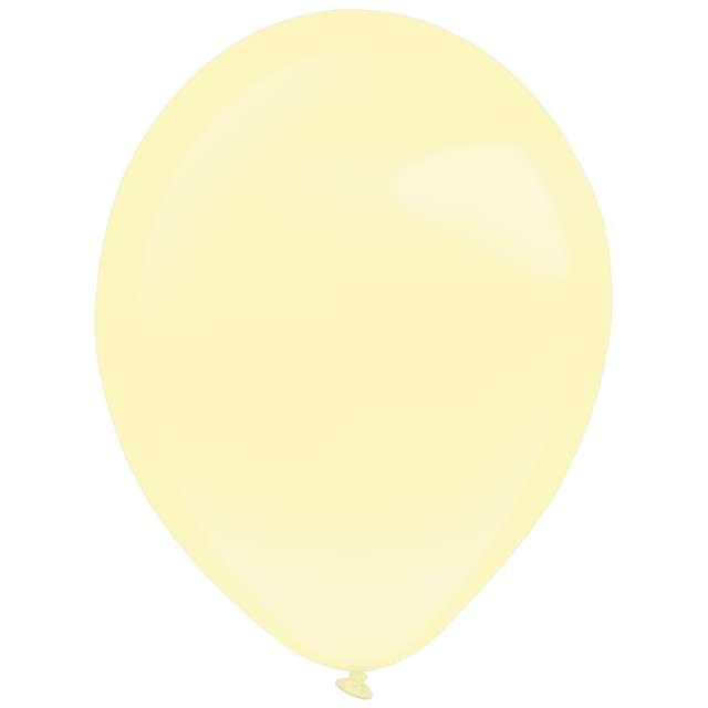 "Balony ""Decor Premium - Pearl"", kremowe, Amscan, 11"", 50 szt"