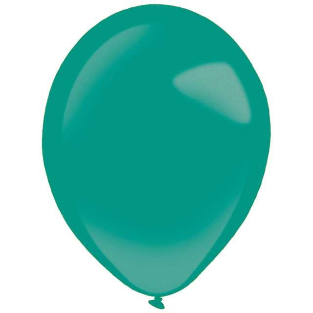 "Balony ""Decor Premium - Metallic"", turkusowe, Amscan, 11"", 50 szt"
