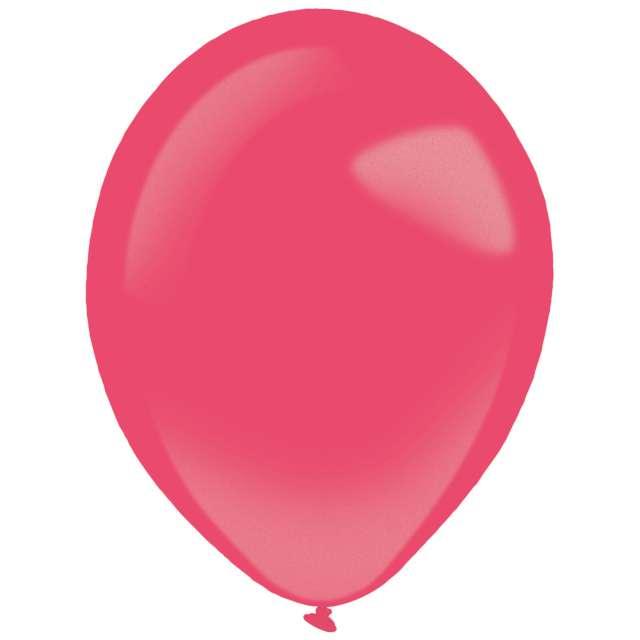 "Balony ""Decor Premium - Metallic"", czerwone, Amscan, 11"", 50 szt"
