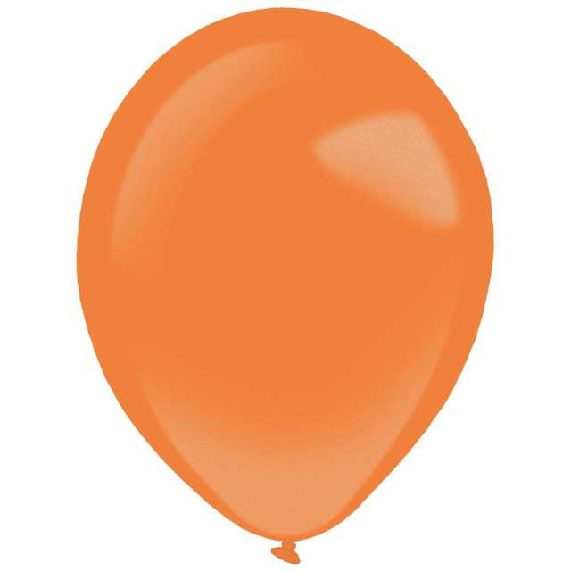 """Balony """"Decor Premium - Metallic"""", pomarańczowe, Amscan, 11"""", 50 szt"""
