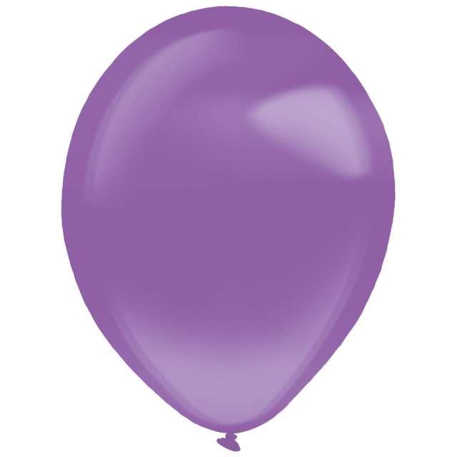 "Balony ""Decor Premium - Crystal"", liliowe, Amscan, 11"", 50 szt"