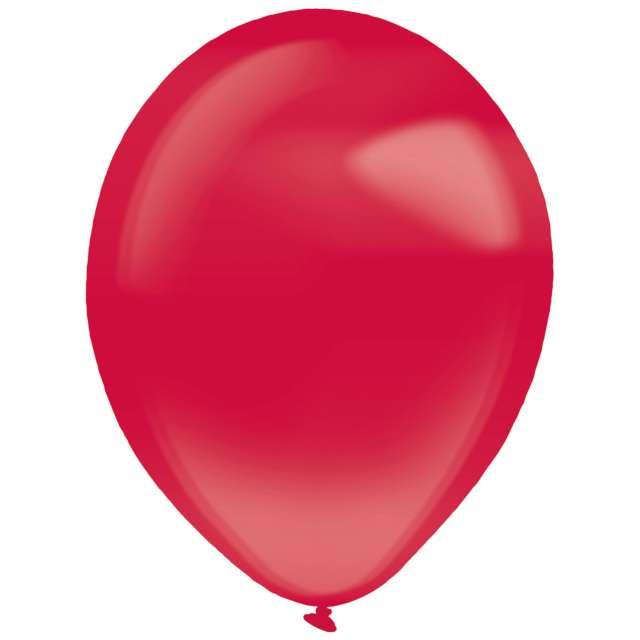 """Balony """"Decor Premium - Crystal"""", czerwone ciemne, Amscan, 11"""", 50 szt"""