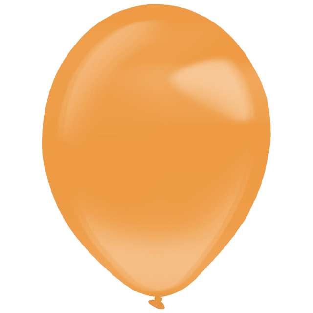 """Balony """"Decor Premium - Crystal"""", pomarańczowe, Amscan, 11"""", 50 szt"""