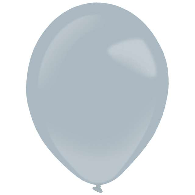 "Balony ""Decor Premium - Fashion"", szary, Amscan, 11"", 50 szt"