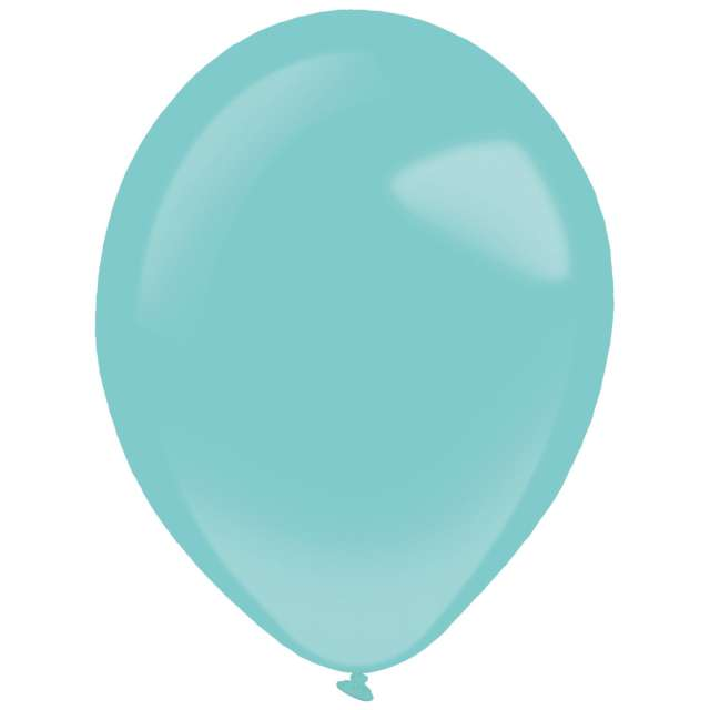 "Balony ""Decor Premium - Fashion"", turkusowe, Amscan, 11"", 50 szt"