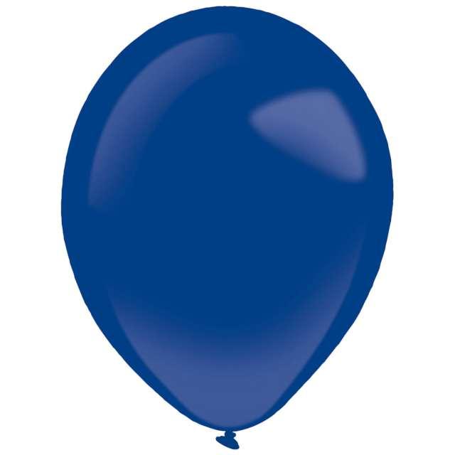 "Balony ""Decor Premium - Fashion"", granatowe, Amscan, 11"", 50 szt"