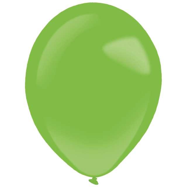 "Balony ""Decor Premium - Standard"", zielone, Amscan, 11"", 50 szt"