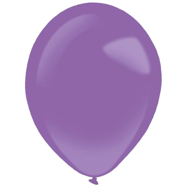 "Balony ""Decor Premium - Standard"", fioletowe, Amscan, 11"", 50 szt"