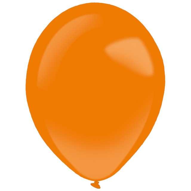 """Balony """"Decor Premium - Standard"""", pomarańczowe, Amscan, 11"""", 50 szt"""