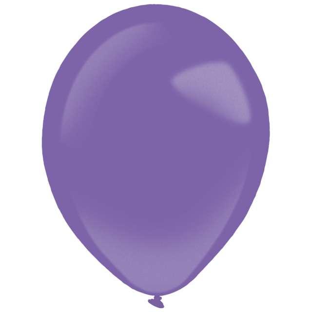 "Balony ""Decor Premium - Metallic"", liliowe, Amscan, 11"", 50 szt"