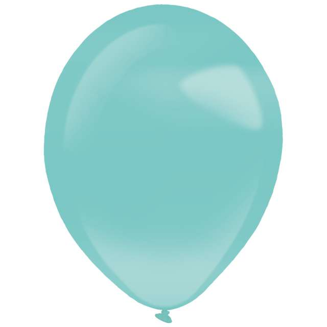 "Balony ""Decor Premium - Pearl"", turkusowe, Amscan, 11"", 50 szt"