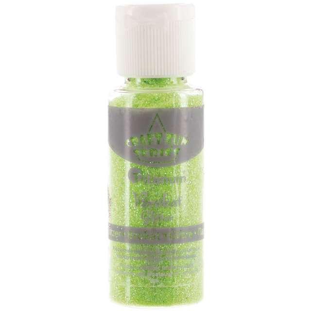 "Brokat sypki ""Classic w Butelce"", zielony neon, 20 ml, Titanum"