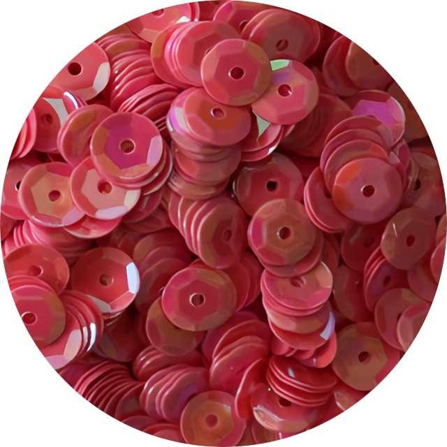 """Cekiny """"Classic Opalizujący"""", różowe jasne, 7 mm, 10 g, Titanum"""