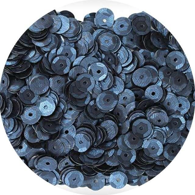 "Cekiny ""Classic Mat"", czarne, 7 mm, 10 g, Titanum"