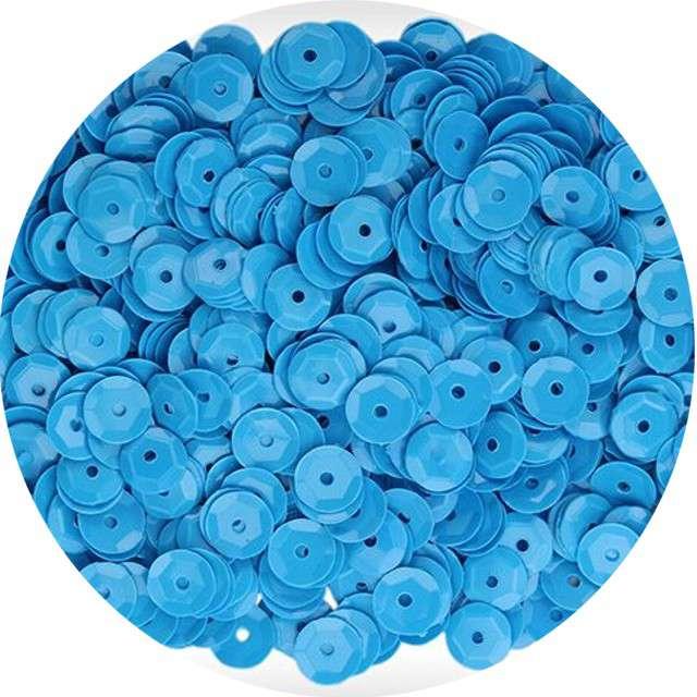 "Cekiny ""Classic Pastel"", niebieskie, 7 mm, 10 g, Titanum"