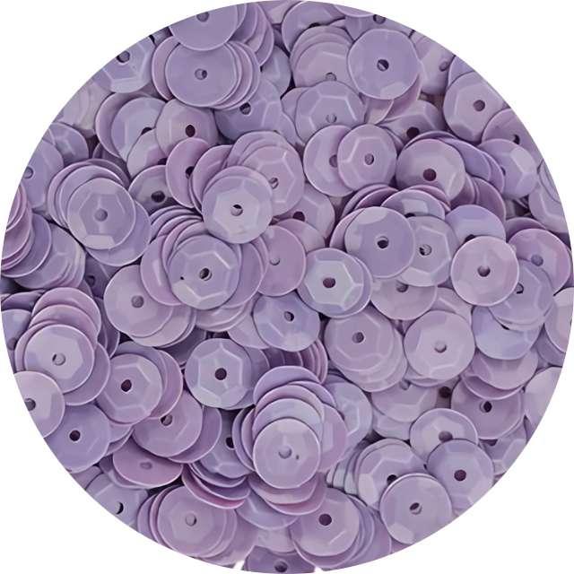 """Cekiny """"Classic Pastel"""", fioletowe, 7 mm, 10 g, Titanum"""
