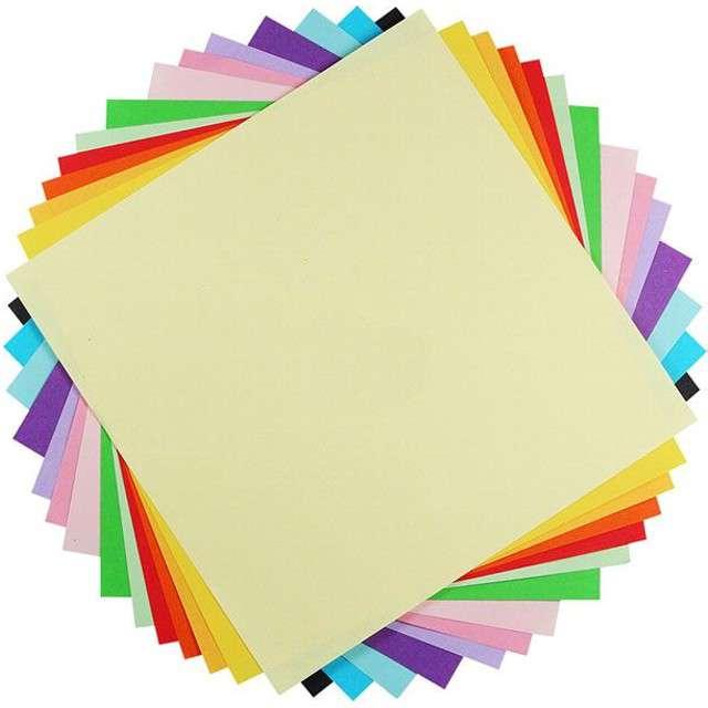 """Papier do origami """"Classic"""", mix, Titanum, 20 x 20 cm, 100 szt"""
