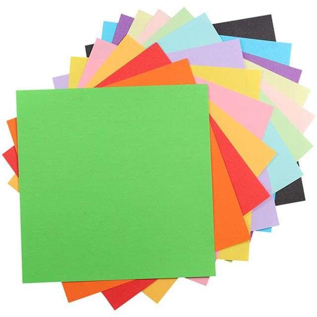 """Papier do origami """"Classic"""", mix, Titanum, 15 x 15 cm, 100 szt"""