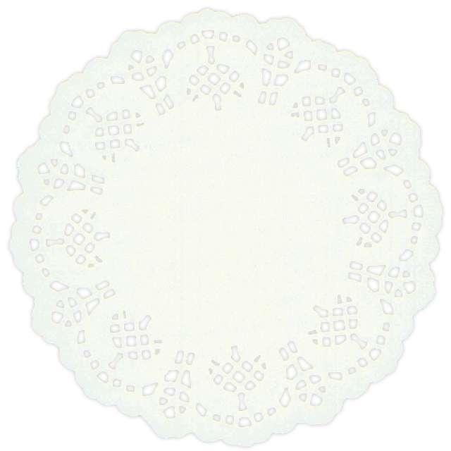 """Serwetki dekoracyjne """"Classic"""", białe, Titanum, 11,5 cm, 35 szt"""