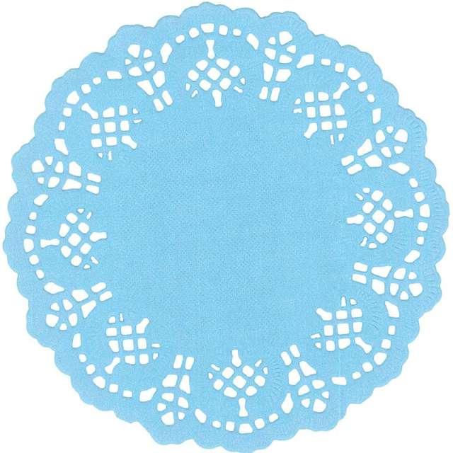 """Serwetki dekoracyjne """"Classic"""", błękitne, Titanum, 11,5 cm, 35 szt"""