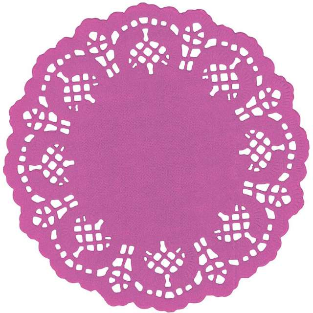 "Serwetki dekoracyjne ""Classic"", fioletowe, Titanum, 11,5 cm, 35 szt"