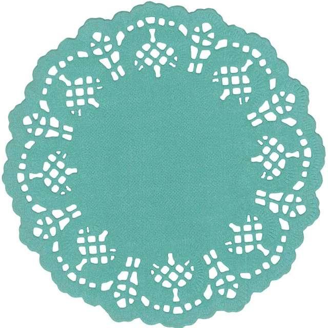 "Serwetki dekoracyjne ""Classic"", turkusowe, Titanum, 11,5 cm, 35 szt"