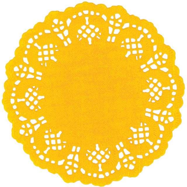 """Serwetki dekoracyjne """"Classic"""", żółte, Titanum, 11,5 cm, 35 szt"""