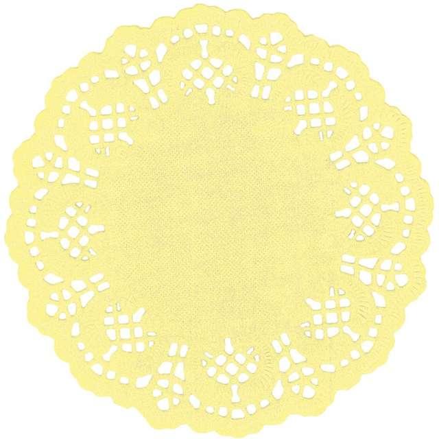 """Serwetki dekoracyjne """"Classic"""", żółte jasne, Titanum, 11,5 cm, 35 szt"""