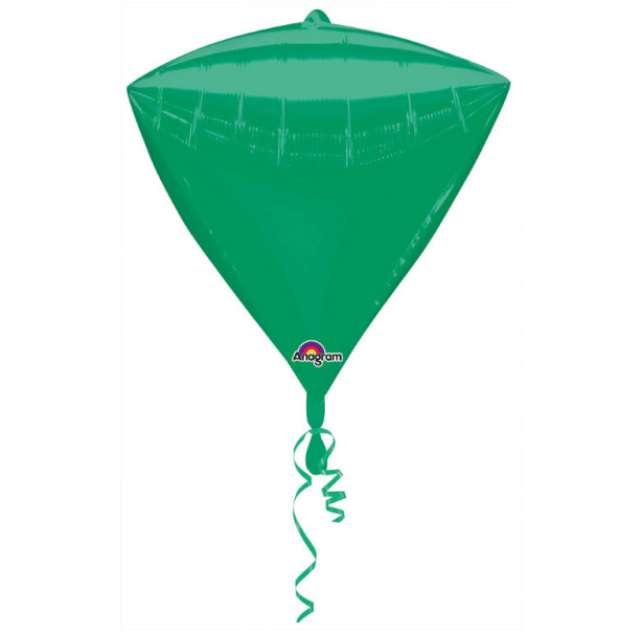 Balon foliowy Diament zielony AMSCAN 17 DMZ