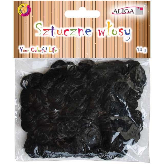 """Sztuczne włosy """"Classic"""", czarne, Aliga, 14 g"""