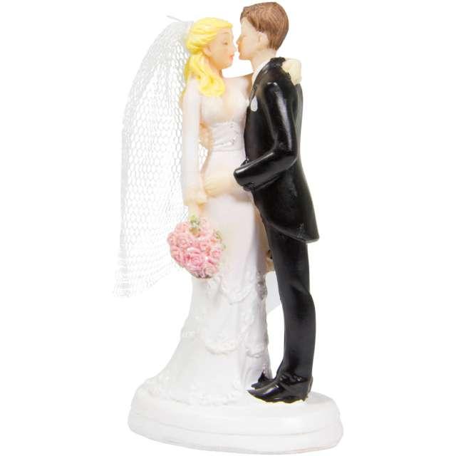 """Figurka na tort """"Całująca się Młoda Para"""", Folat, 14 cm"""