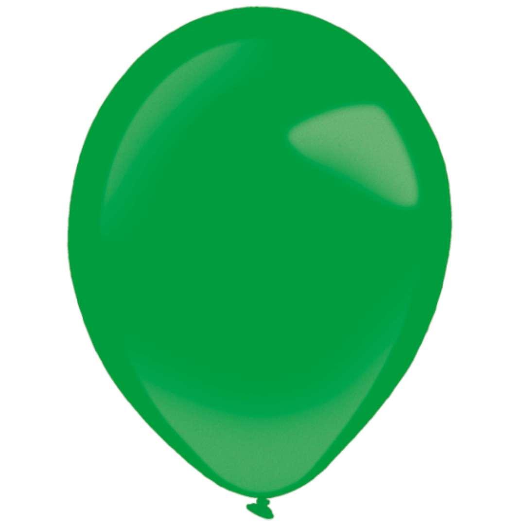 """Balony """"Decor Premium - Metallic"""", zielone, Amscan, 11"""", 50 szt"""