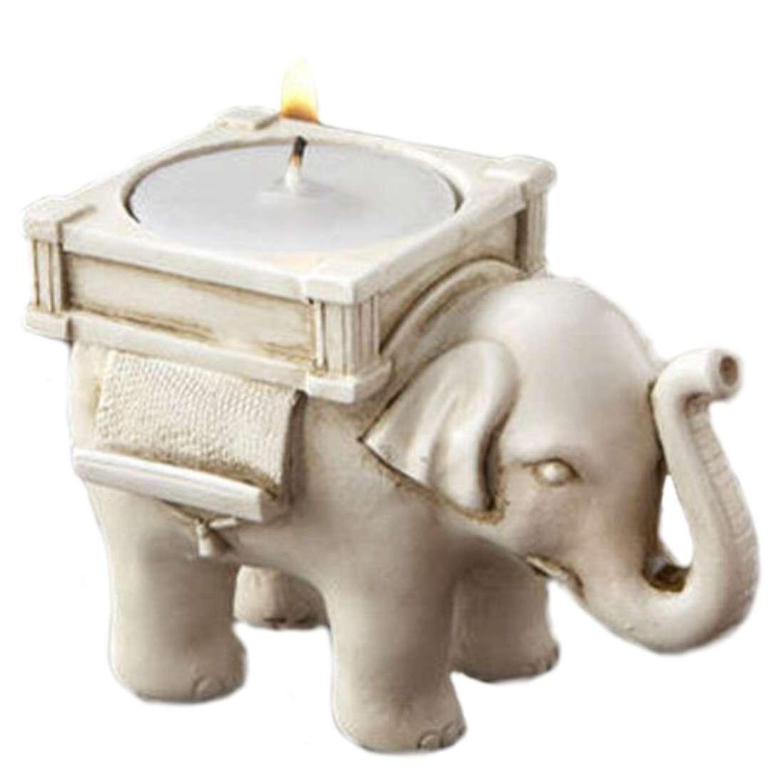 Słonik świecznik - na szczęście