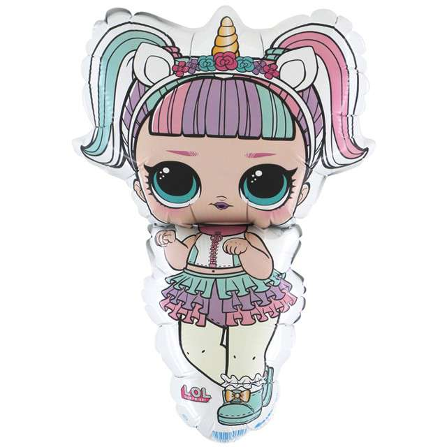 "Balon foliowy ""LOL unicorn"", Grabo, 14"", SHP"