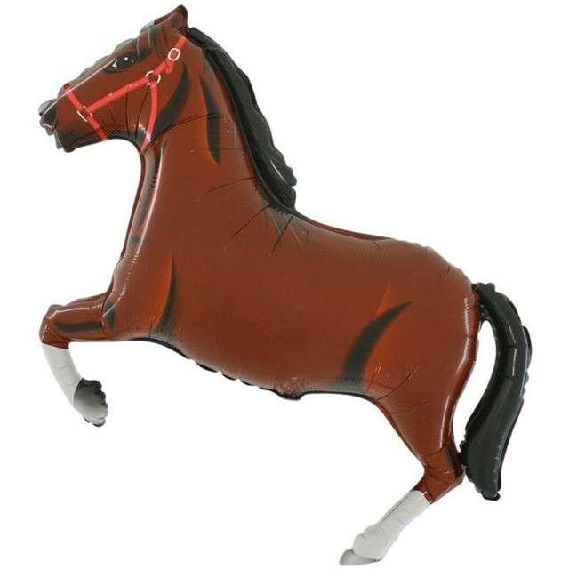 """Balon foliowy """"Koń"""", brązowy, Grabo, 21"""", SHP"""