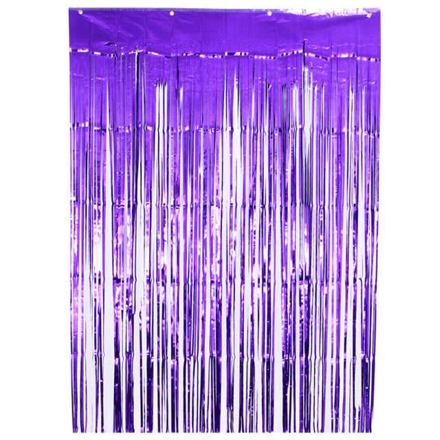 """Kurtyna na drzwi """"Classic"""", fioletowy, Oaktree, 240 x 90 cm"""