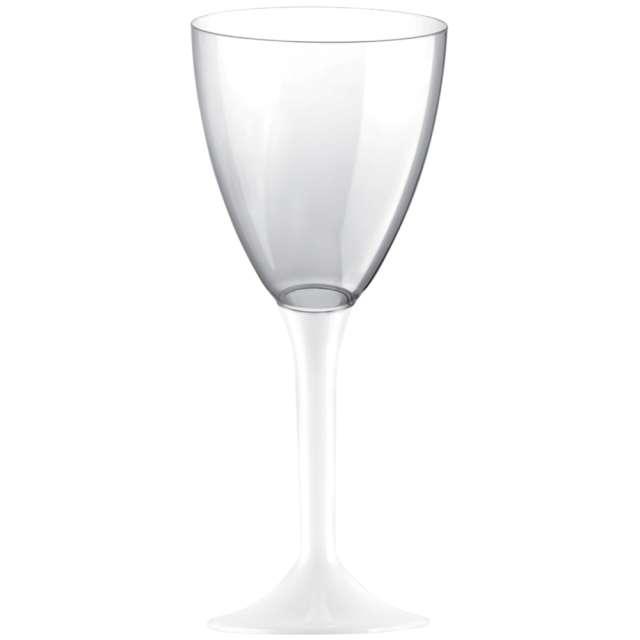 """Kieliszki jednorazowe """"Wino Classic"""", białe, GoldPlast, 180 ml, 10 szt"""