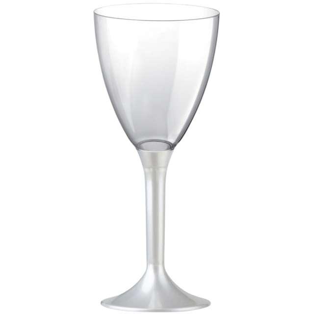 """Kieliszki jednorazowe """"Wino Classic"""", perłowe, GoldPlast, 180 ml, 10 szt"""