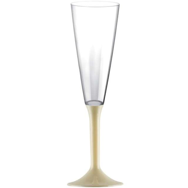 """Kieliszki jednorazowe """"Szampan Long XL"""", szampańskie, GoldPlast, 160 ml, 10 szt"""