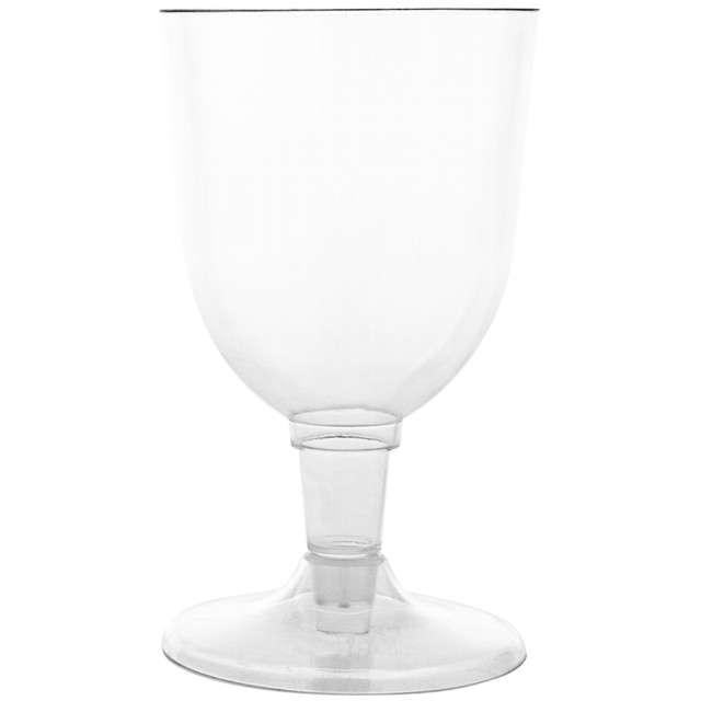 """Kieliszki jednorazowe """"Wino Classic"""", Funny Fashion, 11 cm, 6 szt."""