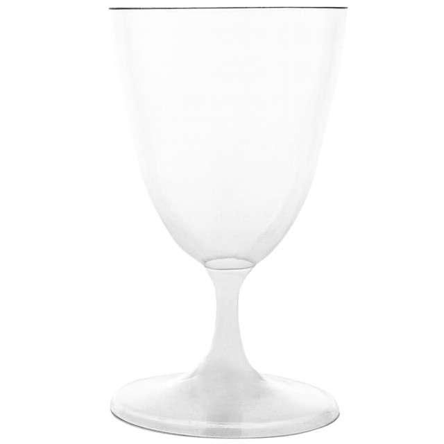 """Kieliszki jednorazowe """"Wino Classic"""", Funny Fashion, 15 cm, 6 szt."""