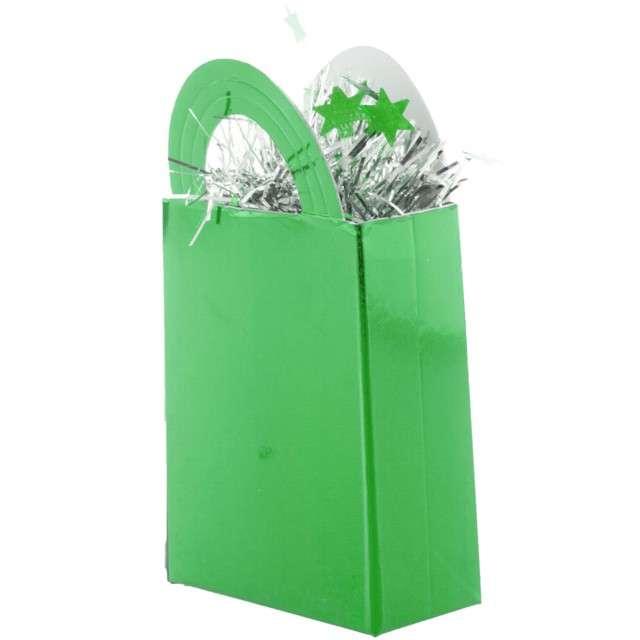 """Obciążnik do balonów """"Torebka"""", zielony, Funny Fashion"""