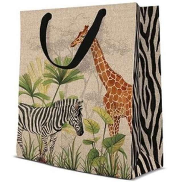 "Torebka prezentowa ""Safari"", PAW, 20x25 cm"