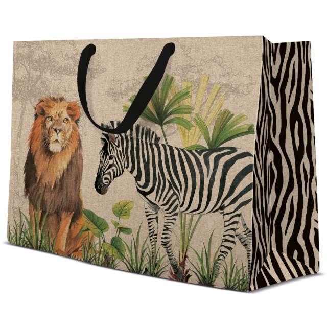 "Torebka prezentowa ""Safari"", PAW, 33x26 cm"