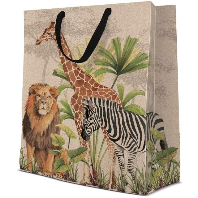 "Torebka prezentowa ""Safari"", PAW, 30x40 cm"